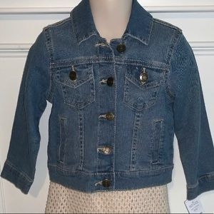 Carters Toddler Girl Jean Jacket Size 3T NWT FALL